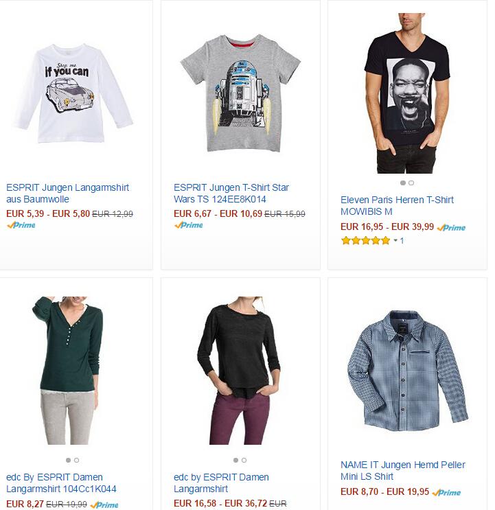 Markenbekleidung Top oder Shirt