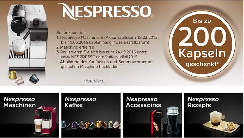 Nespresso Maschine kaufen