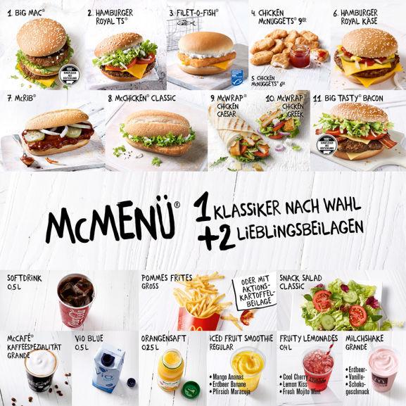 【McDonalds】 Coca-Cola Glas zum McMenü gratis dazu ab 17.07.