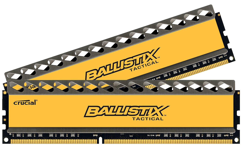 【Amazon】Crucial Ballistix Tactical 8GB Kit DDR3 für 35,27€