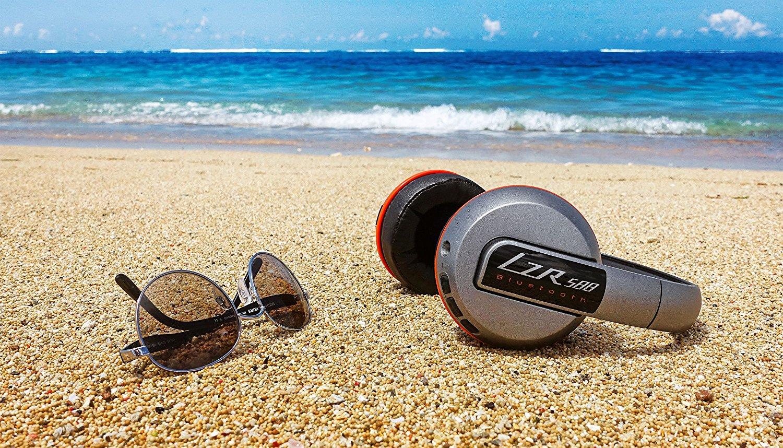 【Amazon】Magnat LZR 588 Bluetooth-Kopfhörer silber/orange für 69,99 statt 89