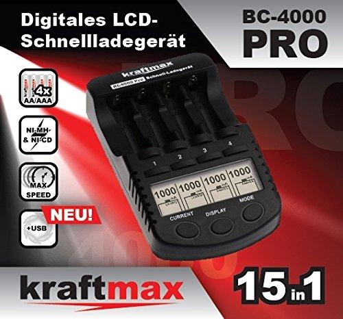 【Amazon】Ladegerät BC-4000 PRO bei Amazon für Eneloop-Akkus