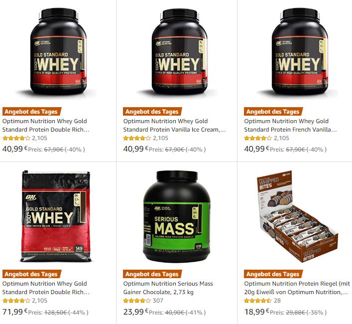 Optimum Nutrition Protein